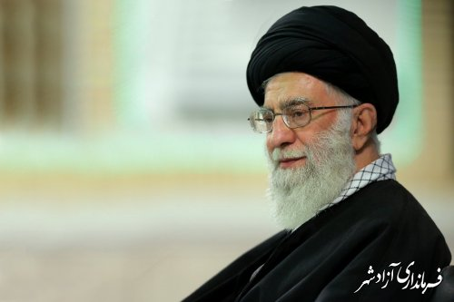 صوت/ بیانات رهبر انقلاب در دیدار مسئولان نظام