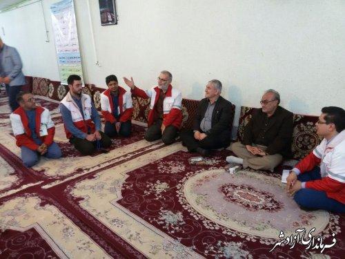برگزاری چهارمین دوره انتخابات مجامع جمعیت هلال احمر شهرستان آزادشهر