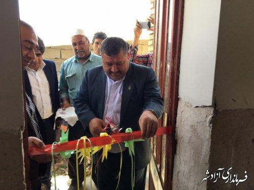 خدمتی دیگر از دولت تدبیر و امید به مردم شریف شهرستان آزادشهر