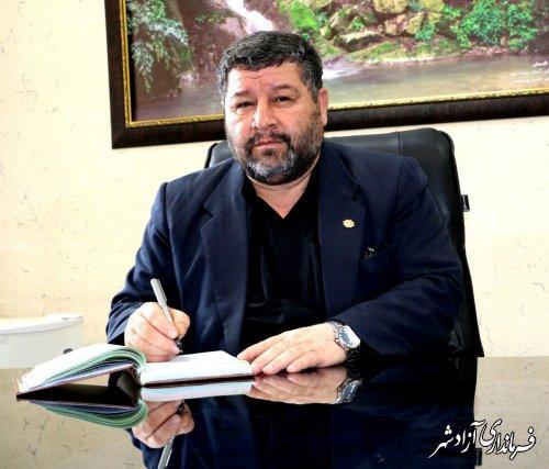 حبیب شفائی فرماندار آزادشهر از حضور حماسی مردم شهرستان در انتخابات تقدیر کرد