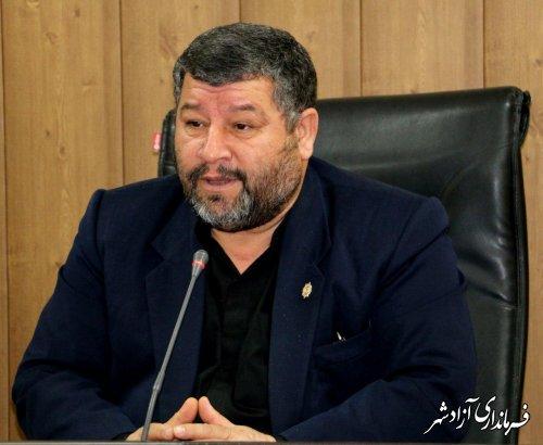 پیام تبریک حبیب شفائی فرماندار آزادشهر به مناسبت پیروزی دکتر روحانی در انتخابات ریاست جمهوری