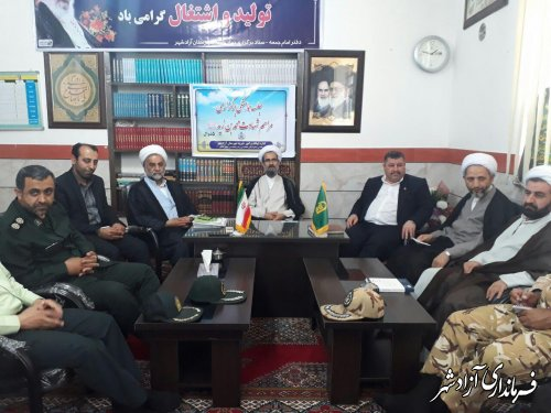 جلسه هماهنگی راهپیمایی روز جهانی قدس در شهرستان آزادشهر برگزار شد