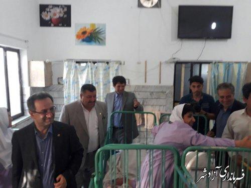 بازدید رئیس سازمان بهزیستی کشور  از مرکز توانبخشی حضرت زینب (س ) در  آزادشهر