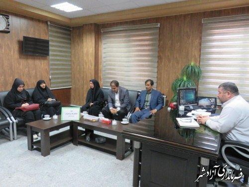 برگزاری اولین جلسه هماهنگی جام روستا قهرمان شهرستان آزادشهر