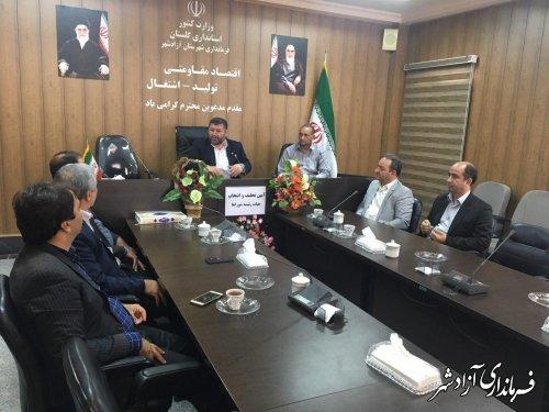 آغاز آيين تحليف و انتخاب هيات رييسه شوراي اسلامی شهرستان آزادشهر