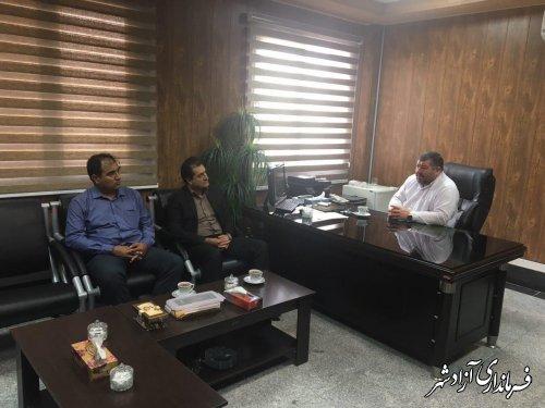 باقري سرپرست جديد اداره ثبت اسناد و املاك شهرستان شد
