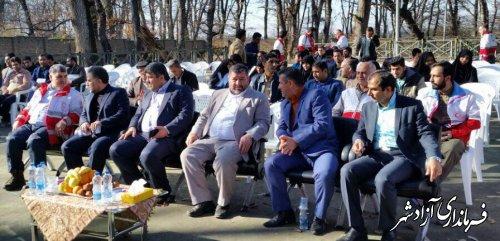 برگزاری همایش دهیاران شهرستان های آزادشهر و رامیان با حضور فرمانداران دو شهرستان