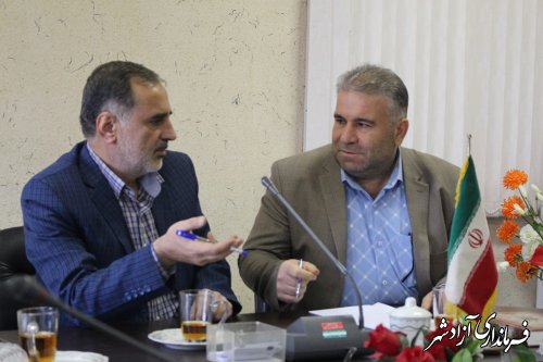 کمیسیون رصد شبکه های مجازی شهرستان آزادشهر تشکیل جلسه داد