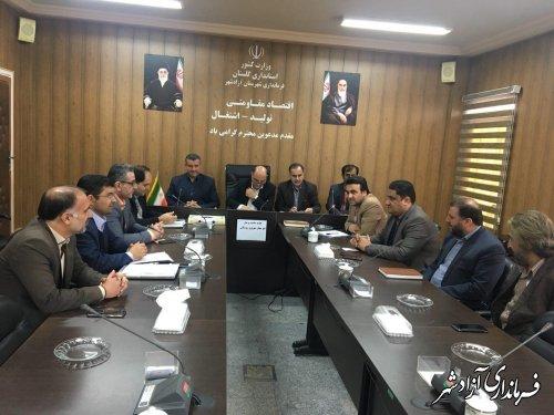 فرماندار آزادشهر: پيشگيري از ساخت و ساز غير مجاز؛ در اولويت برنامههاي فرمانداري