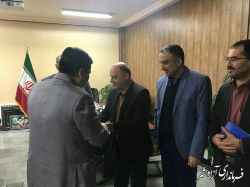 معرفی رئیس جدید اداره بیمه سلامت شهرستان ازادشهر