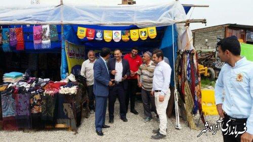 بخشدار مرکزی آزادشهر: نوروزگاه شهرستان آزادشهر میزبان گردشگران