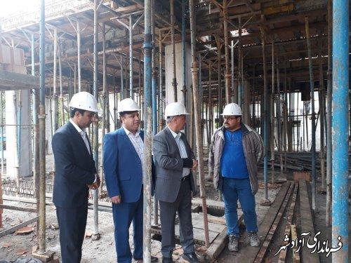 فرماندار آزادشهر : ارتقاء فضای فیزیکی موجب تنوع خدمات و به تبع آن افزایش کیفیت خدمات خواهد شد