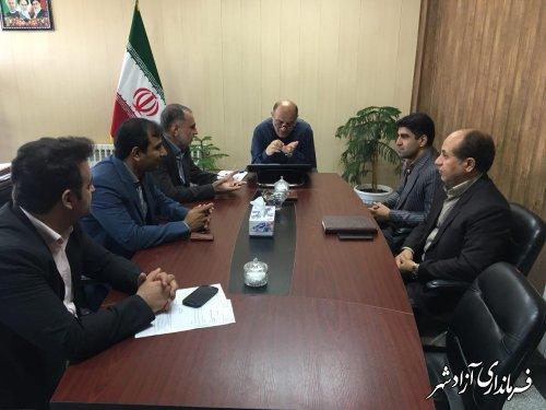 فرماندار آزادشهر:با همه توان طرح ملي آبرساني به شهرآزادشهررا به اتمام خواهيم رساند