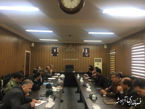 دیدار دادستان استان گلستان با فرماندار آزادشهر