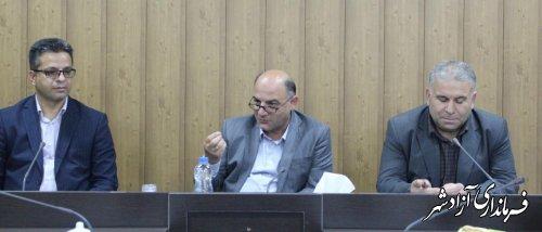 برگزاری جلسه هماهنگی انجمن کونگ فوتوآ استان گلستان با فرماندار آزادشهر