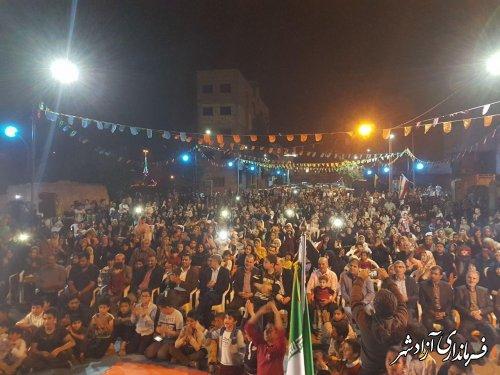 برگزاری جشن میلاد حضرت علی اکبر(ع) و هفته جوان در شهرستان آزادشهر