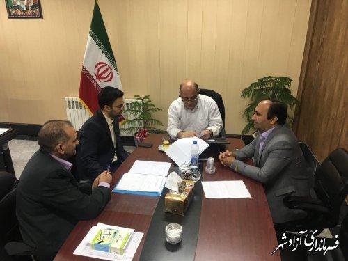 مصوبات شوراهاي شهر شهرستان آزادشهر بررسي شد