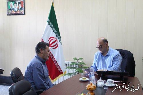 برگزاري ملاقات مردمي فرمانـــدار شهرستان آزادشهر