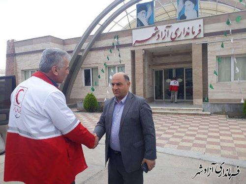 خدمات یکروزه کاروان سلامت در روستای فارسیان شهرستان آزادشهر