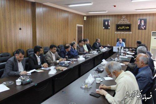 جلسه کارگروه کمیسیون ارتقا امنیت اجتماعی شهرستان آزادشهر برگزار شد