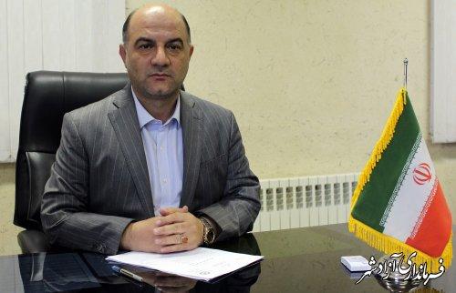پیام تبریک فرماندار آزادشهر بمناسبت روز ملی ارتباطات و روابط عمومی