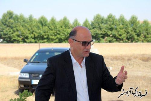 ساخت کارخانه اسید سولفوریک در شهرستان آزادشهر آغاز شد
