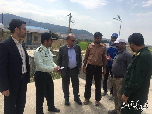 با اعتبار 14 میلیارد تومان پروژه ملی آبرسانی به شهرستان آزادشهر به اتمام رسید