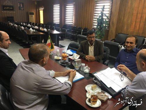 جلسه کمیته انطباق شورای شهر آزادشهر برگزار شد
