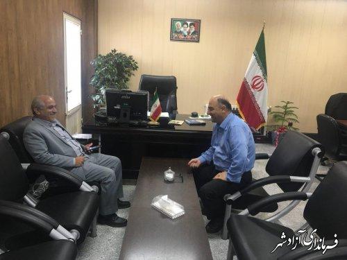 دیدار فرمانداران شهرستان های آزادشهر و رامیان