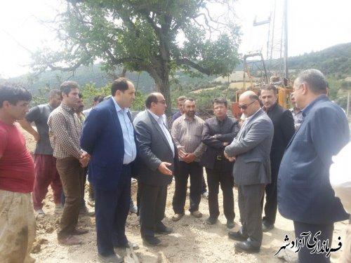 با اعتبار 2 میلیارد تومان پروژه اجرای تثبیت روستای نرگس چال به اتمام رسید