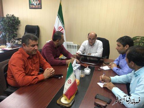 جلسه شورای معاونین و بخشداران شهرستان آزادشهر برگزار شد