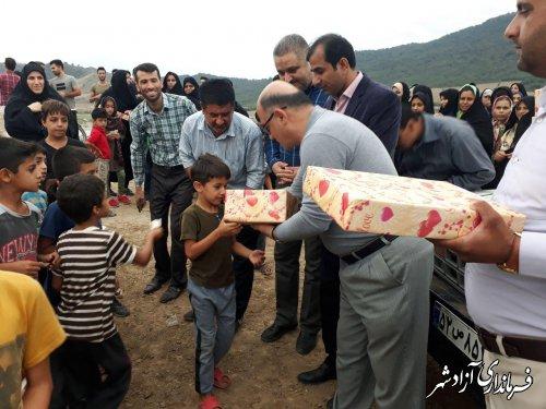 برگزاری پیاده روی خانوادگی در روستای سید آباد از توابع بخش مرکزی شهرستان آزادشهر