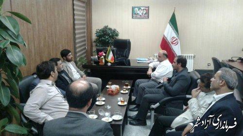 مجموعه دولت در شهرستان آزادشهر از حضور سرمایه گذاران بومی و غیربومی حمایت خواهد کرد