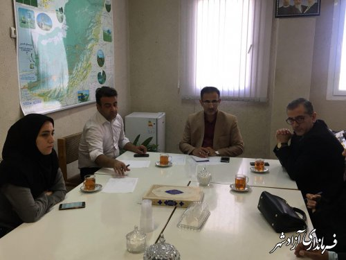 جلسه ستاد تسهیلات سفر شهرستان آزادشهر برگزار شد