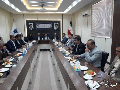 نیازمندی های آموزشی شهرستان آزادشهر از طریق کمیسیون با جدیت پیگیری می شود