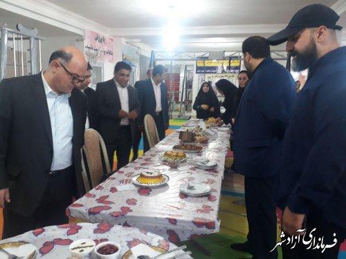 برگزاری جشنواره غذای سالم در شهرستان آزادشهر