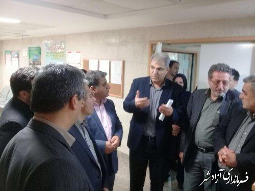 6 تخت ICU  تا دو ماه آینده در بیمارستان حضرت معصومه شهرستان آزادشهر راه اندازی خواهد شد