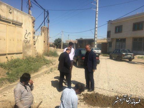 رهاورد 800 میلیون تومان میز خدمت در روستای قزلجه شهرستان آزادشهر