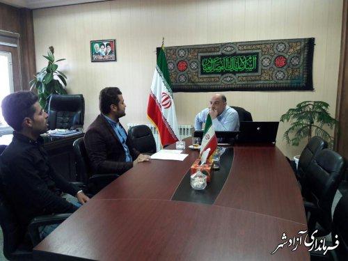 مشکلات و نیازمندی های روستای سرکهریزا شهرستان آزادشهر بررسی و پیگیری شد
