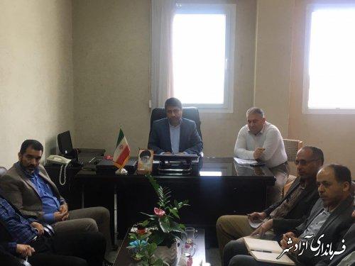 جلسه کمیسیون دانشجویی شهرستان آزادشهر برگزار شد