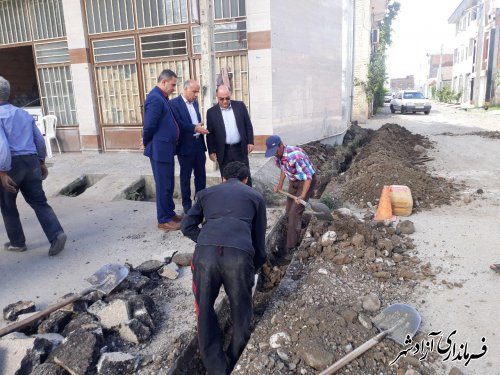 فرماندار آزادشهر: با اعتبار 600 میلیون تومان اصلاح شبکه مخابراتی شهر آزادشهر انجام شد