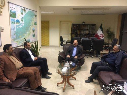 فرماندار آزادشهر: اولین شهرک صنعتی خصوصی استان در شهرستان آزادشهر راه اندازی خواهد شد