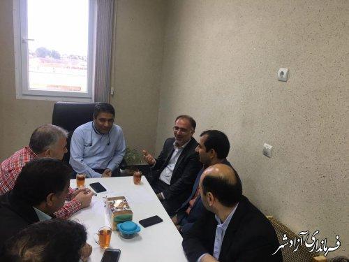 جلسه شورای تامین فرعی شهرستان آزادشهر برگزار شد