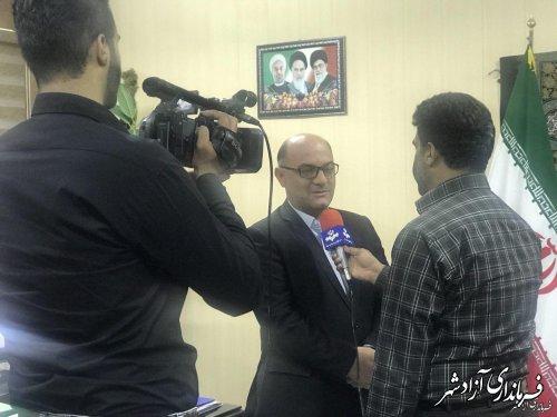 اختصاص 800 میلیون تومان از محل اعتبارات معاونت مناطق محروم ریاست جمهوری به شهرستان آزادشهر