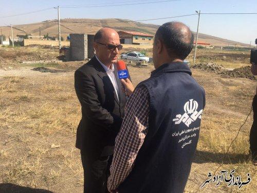 3 هزار هکتار گندم تا نیمه آذرماه در شهرستان آزادشهر کشت شده است
