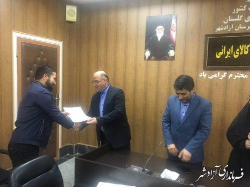 دیدار صمیمی جمعی از دانشجویان با فرماندار شهرستان آزادشهر