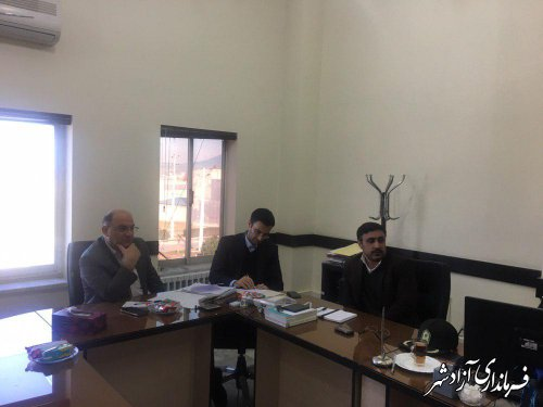 جلسه شورای پیشگیری از وقوع جرم شهرستان آزادشهر برگزار شد