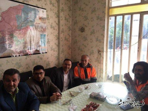 45 کیلومتر از راه های روستایی در شهرستان آزادشهر آسفالت شد