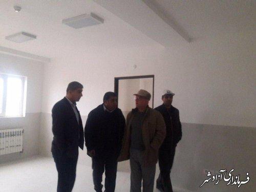 ساختمان شبکه بهداشت و درمان شهرستان آزادشهر افتتاح می شود