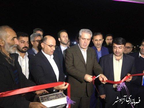 افتتاح فاز دوم هتل الماس (سوئیت های اقامتی) شهرستان آزادشهر